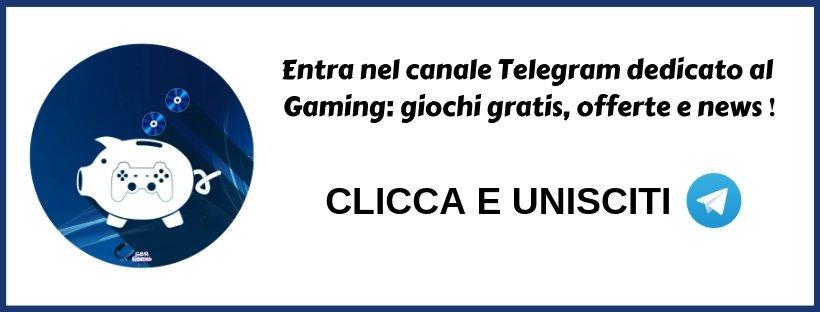 telegram channel gaming offerte